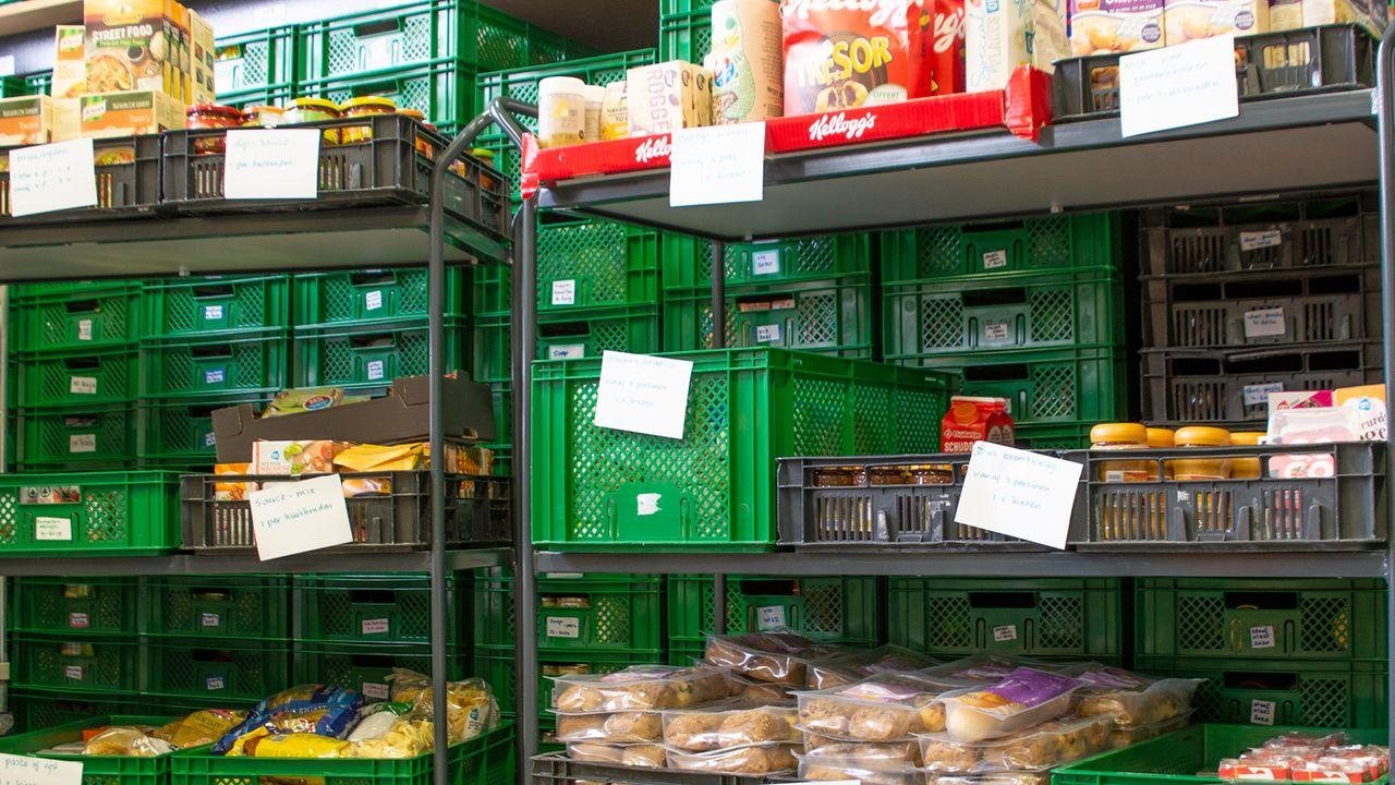 Uitbreiding Voedselbank is klaar, sluiting definitief voorkomen