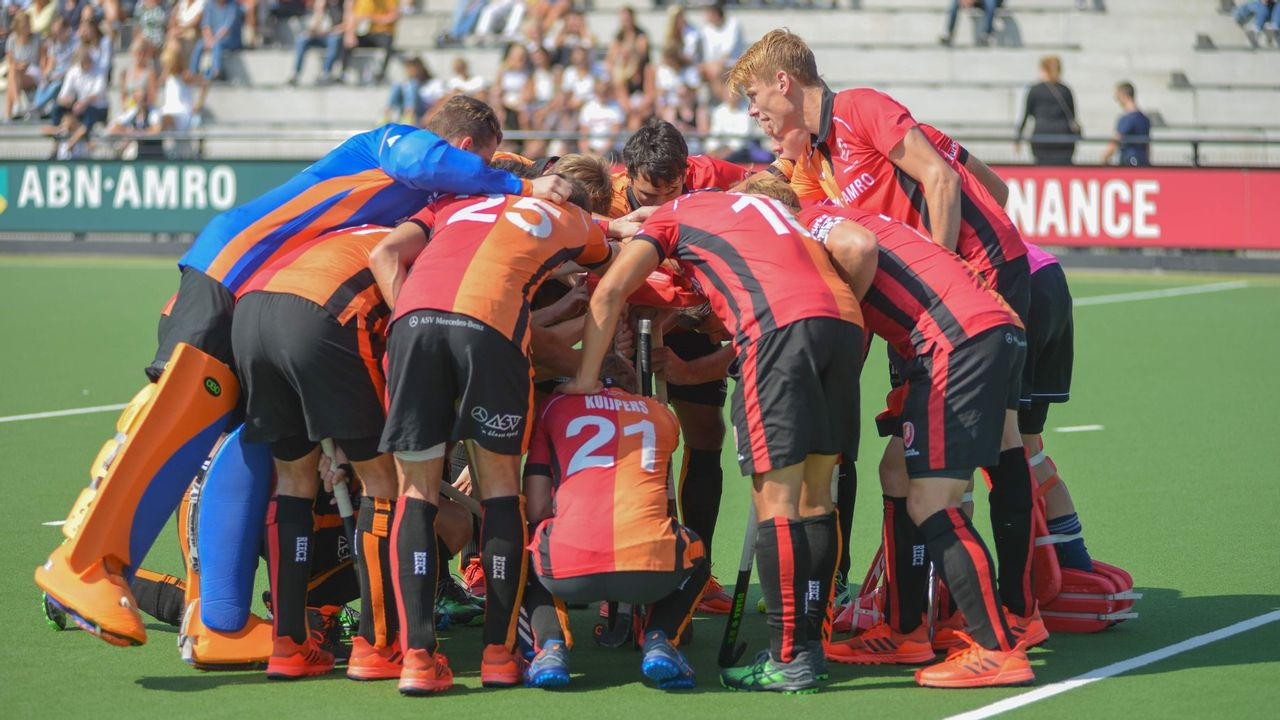 Hockeyclub Oranje-Rood neemt afscheid van zeven spelers