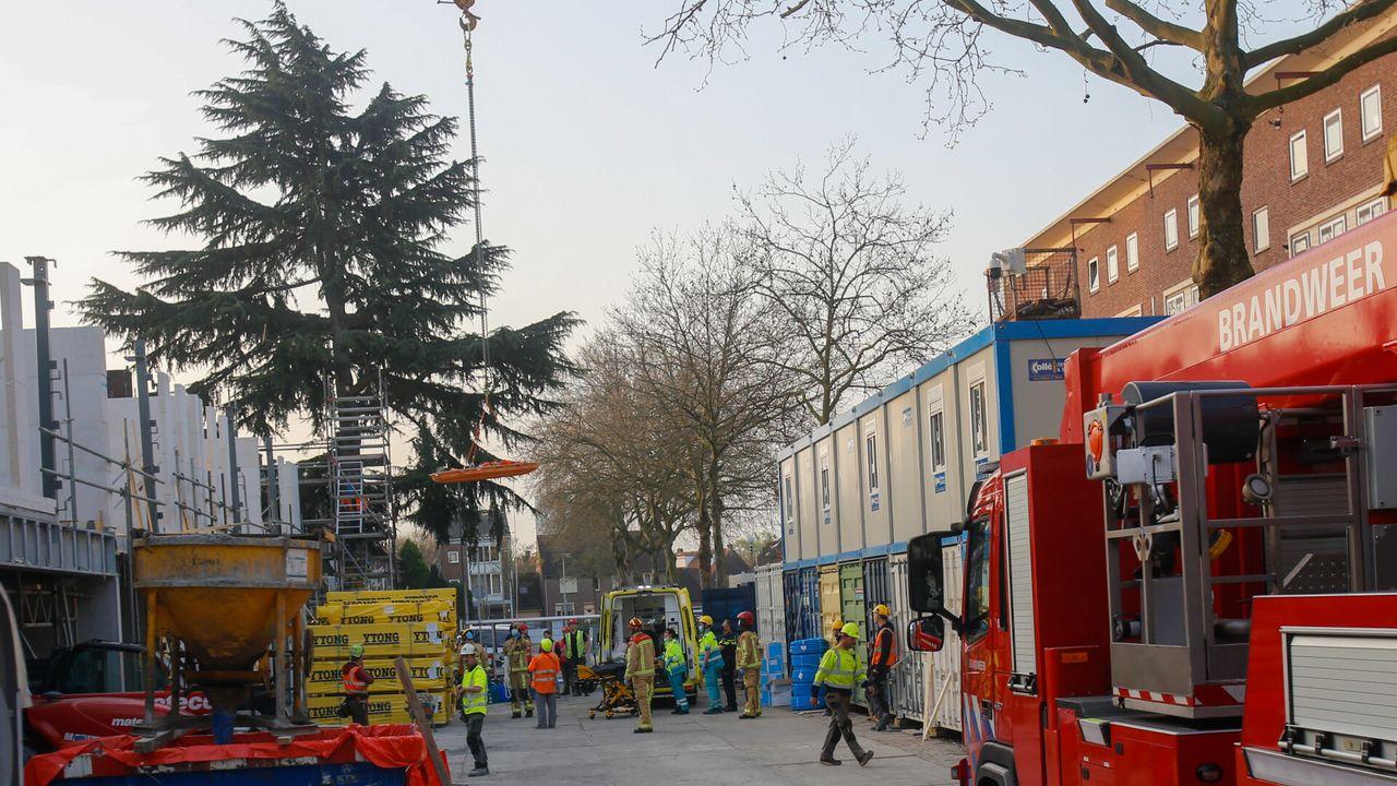 Bouwvakker gewond na val op bouwplaats Limbeek
