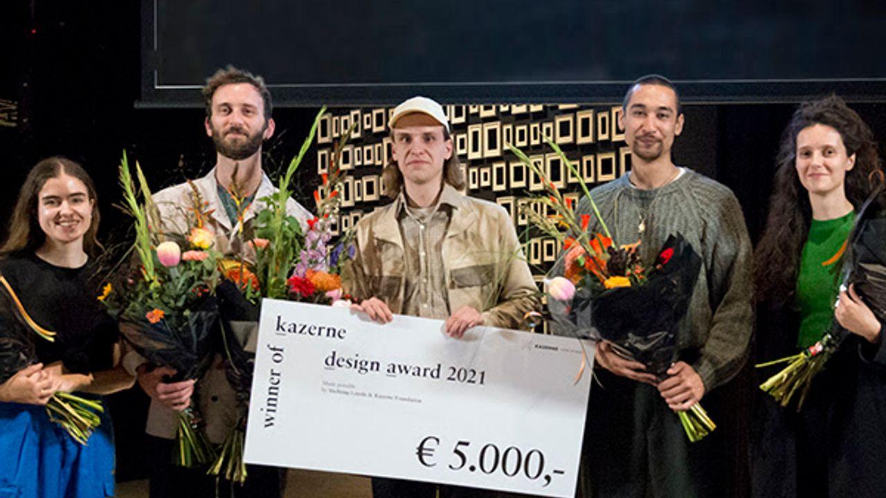 Teun Zwets wint Kazerne Design Award 2021