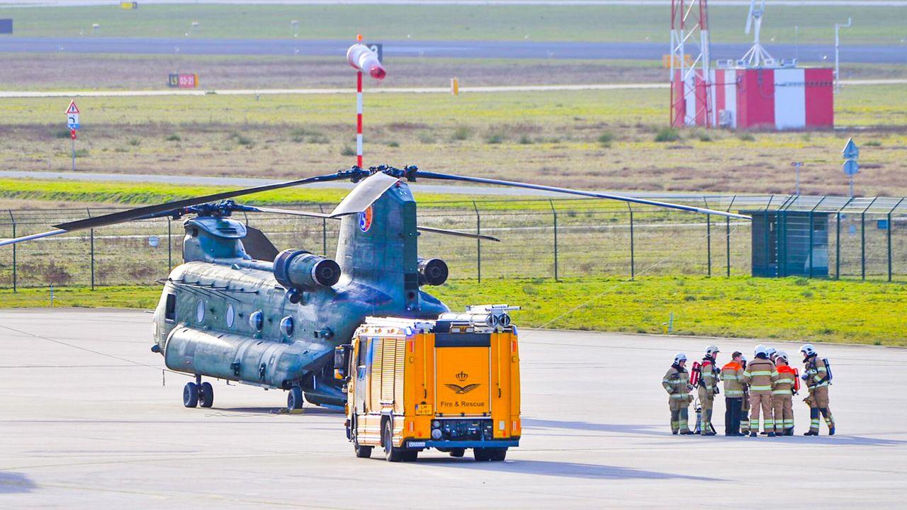 Alarm na mankement helikopter bij Airport, toestel veilig geland