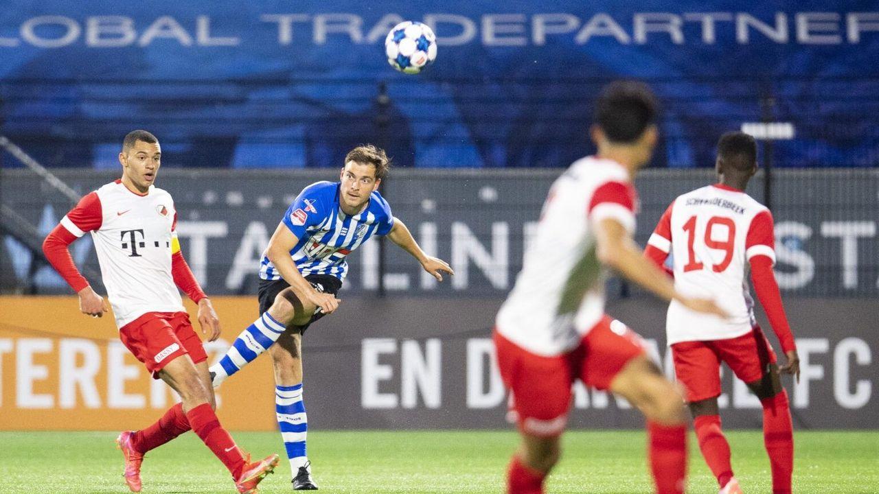 FC Eindhoven eindigt seizoen met gelijkspel tegen Jong FC Utrecht