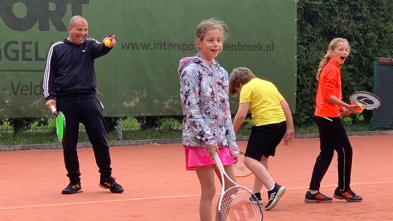 Syrische coach zegen voor Waalrese tennisclub
