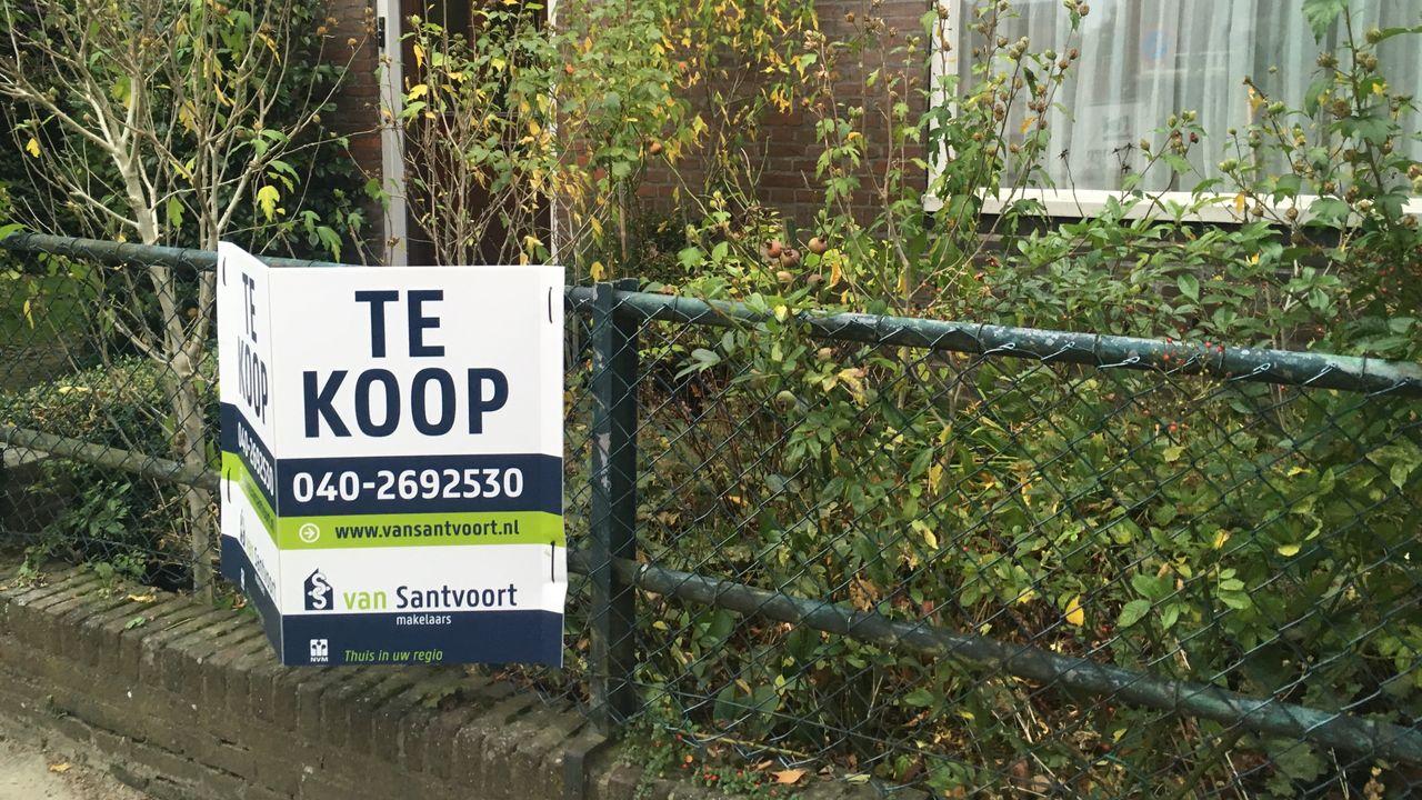 Opnieuw forse stijging huizenprijzen in regio Eindhoven