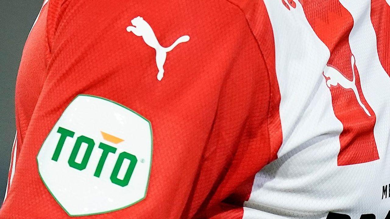 TOTO wordt mouwsponsor van PSV in de Eredivisie