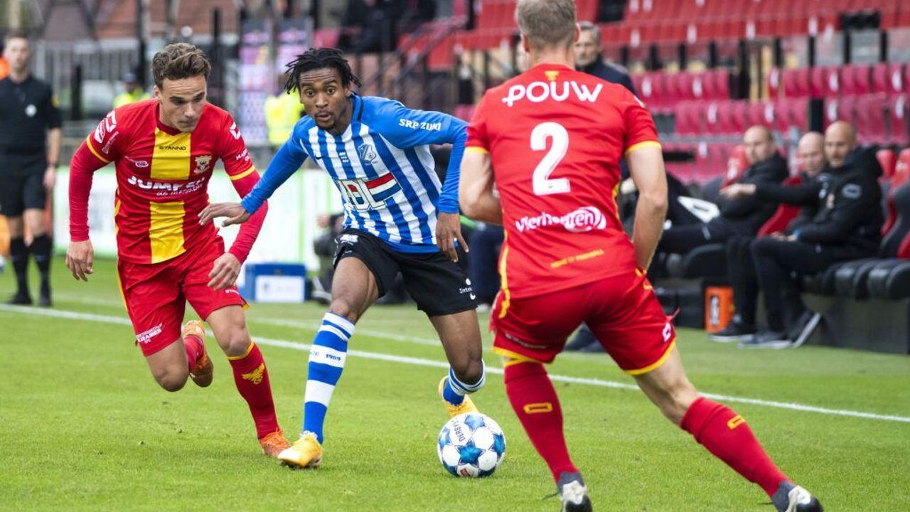 FC Eindhoven verliest van Go Ahead Eagles