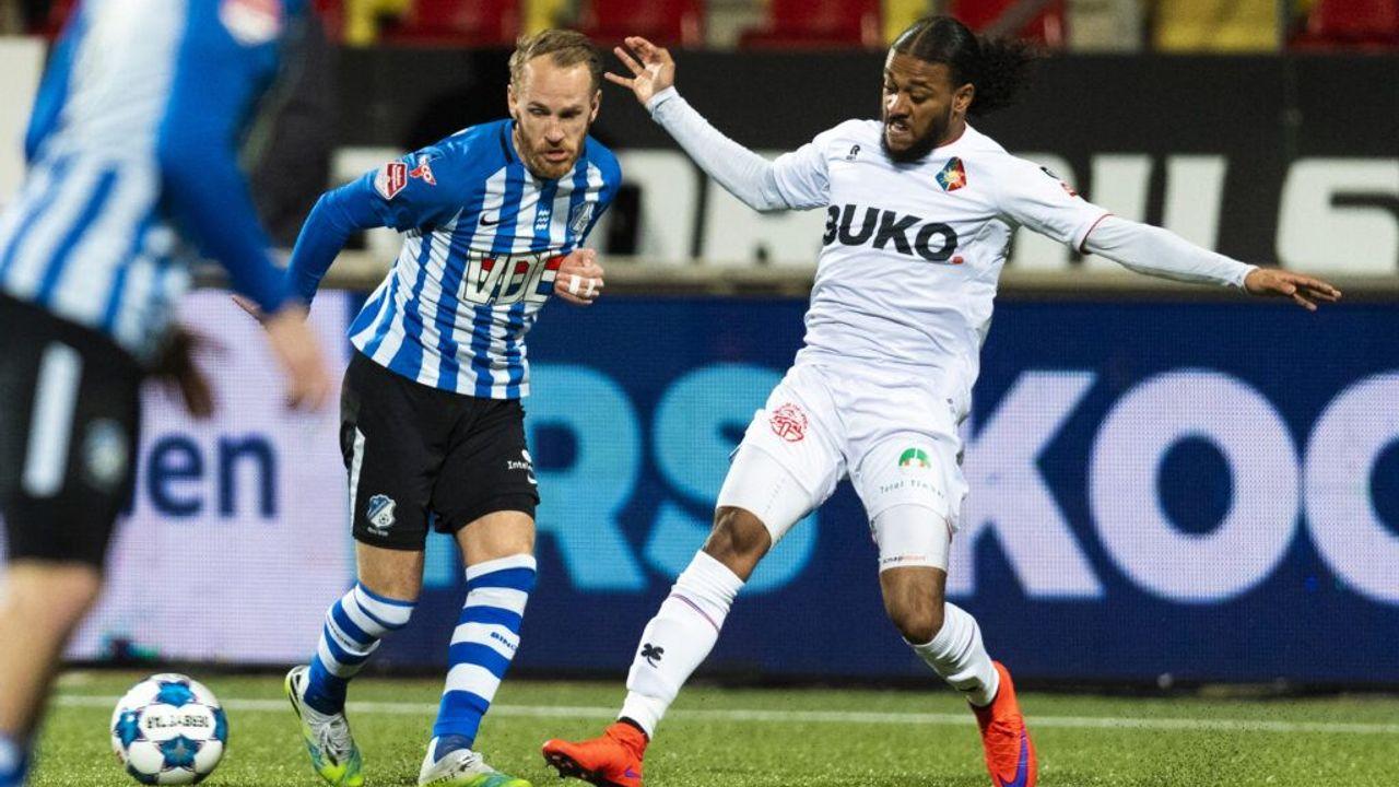 FC Eindhoven pakt in blessuretijd gelijkspel