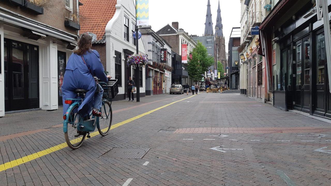 Ondernemers Stratumseind zijn fietsers beu