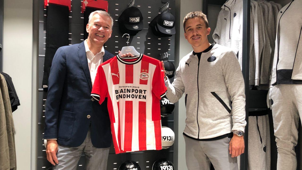 Nieuw shirt PSV verwijst naar 100-jarige bestaan Eindhoven