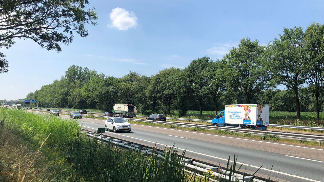 A67 omgeleid wegens plaatsing viaduct