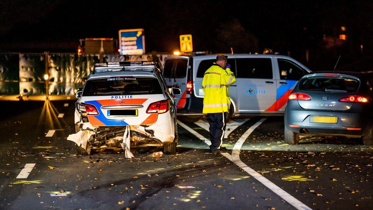 Agent (28) omgekomen bij aanrijding op A270 bij Nuenen