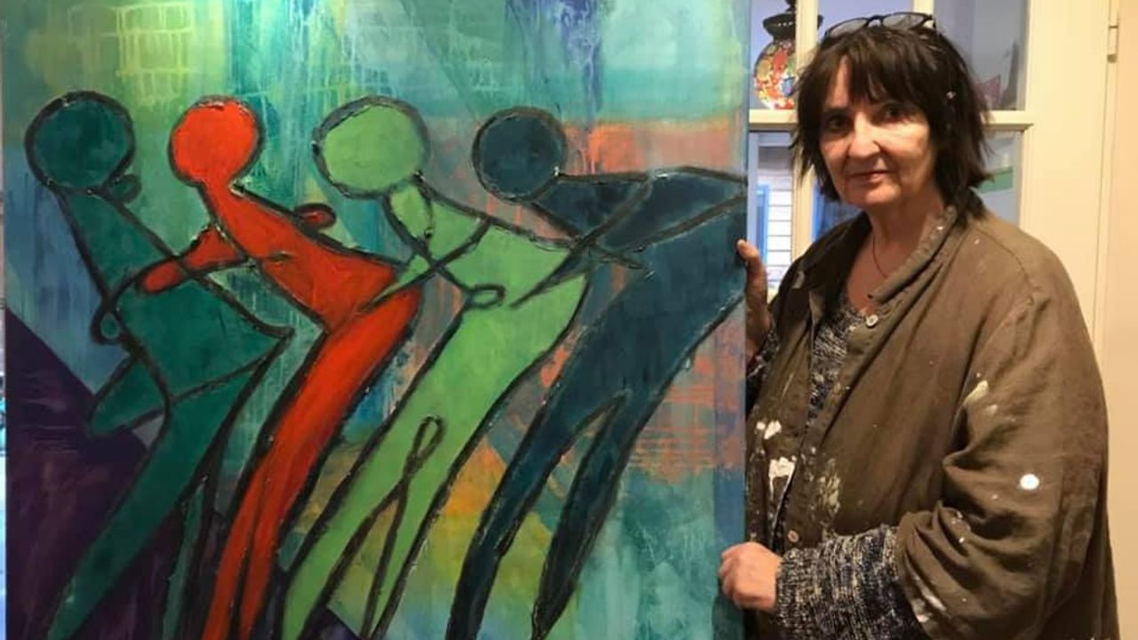 Ellen heeft kanker: 'Kunst is mijn beste medicijn'