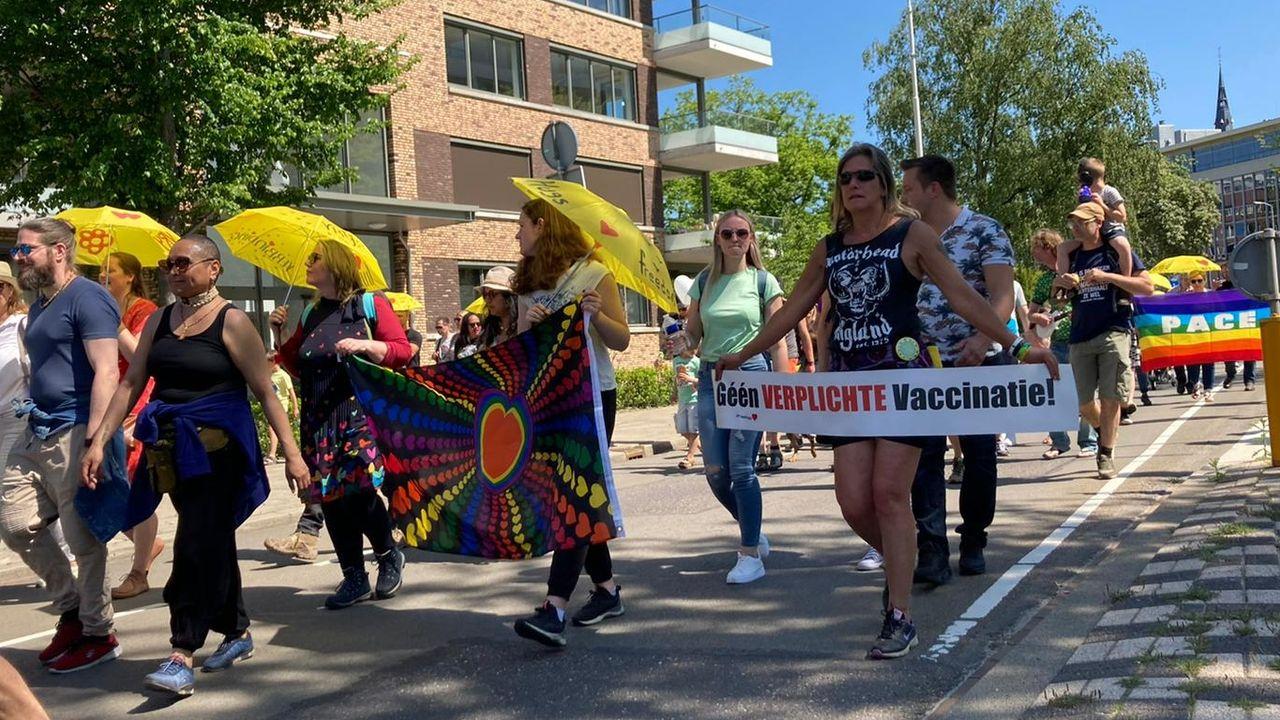 Demonstratie tegen coronamaatregelen verloopt zonder problemen