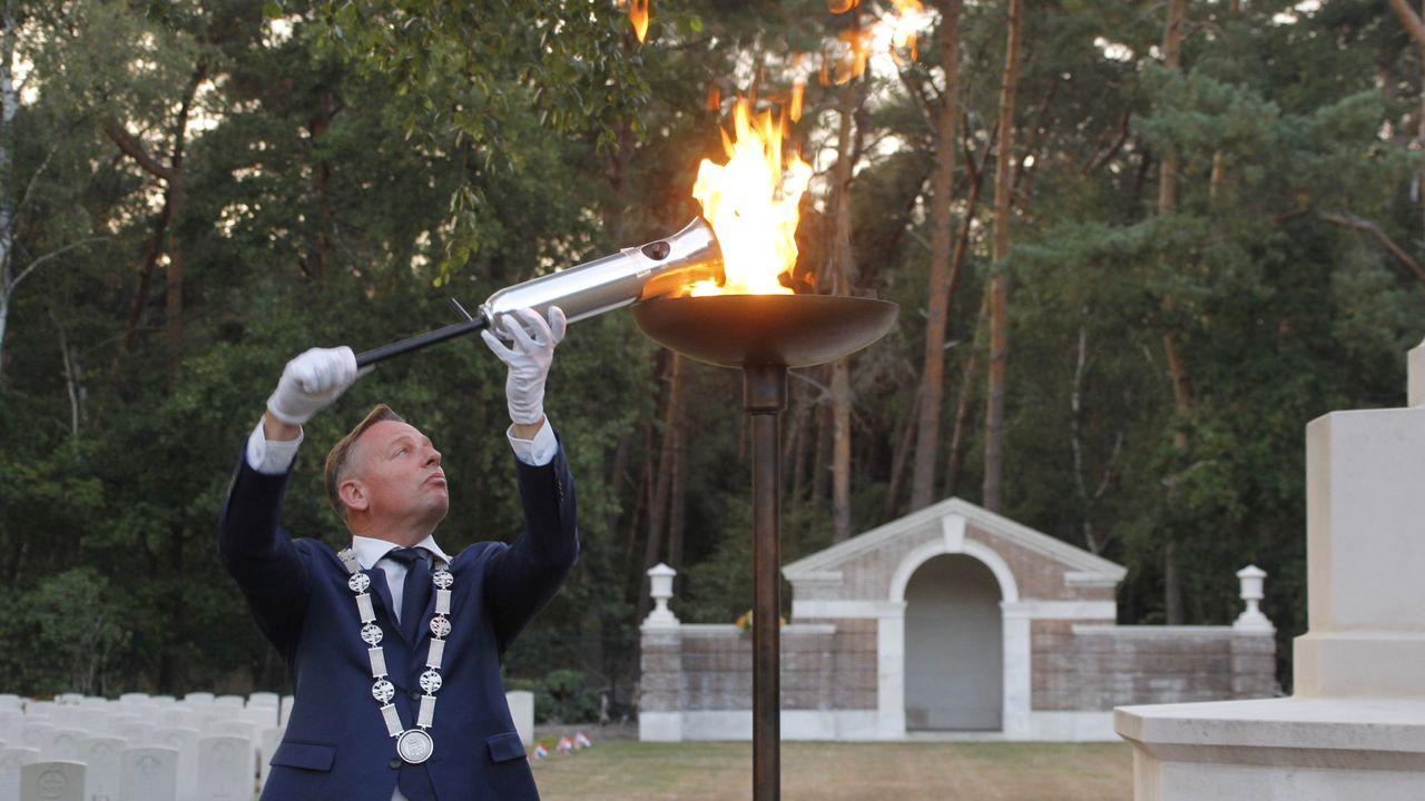 Bevrijdingsvuur brandt in Geldrop-Mierlo