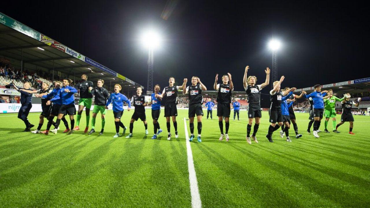FC Eindhoven verrast supporters door winst tegen FC Emmen