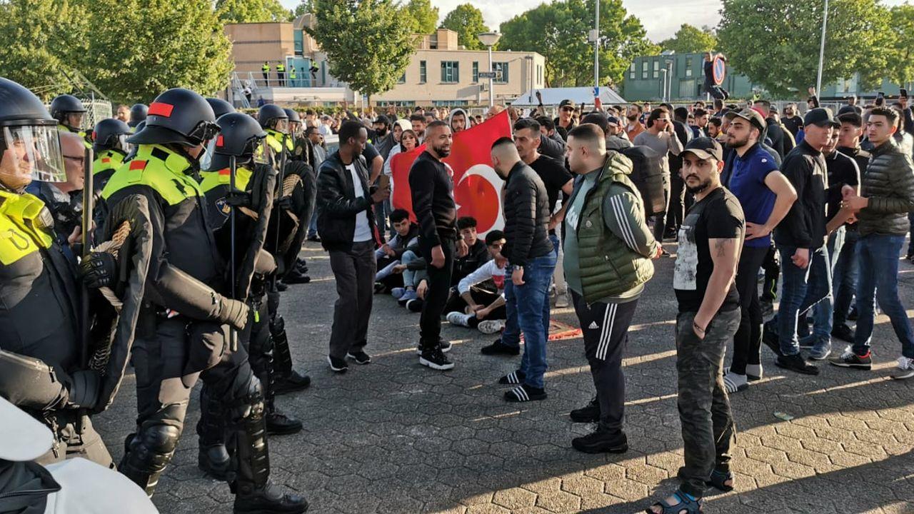 Drie jongens uit Eindhoven aangehouden rond Pegida-protest