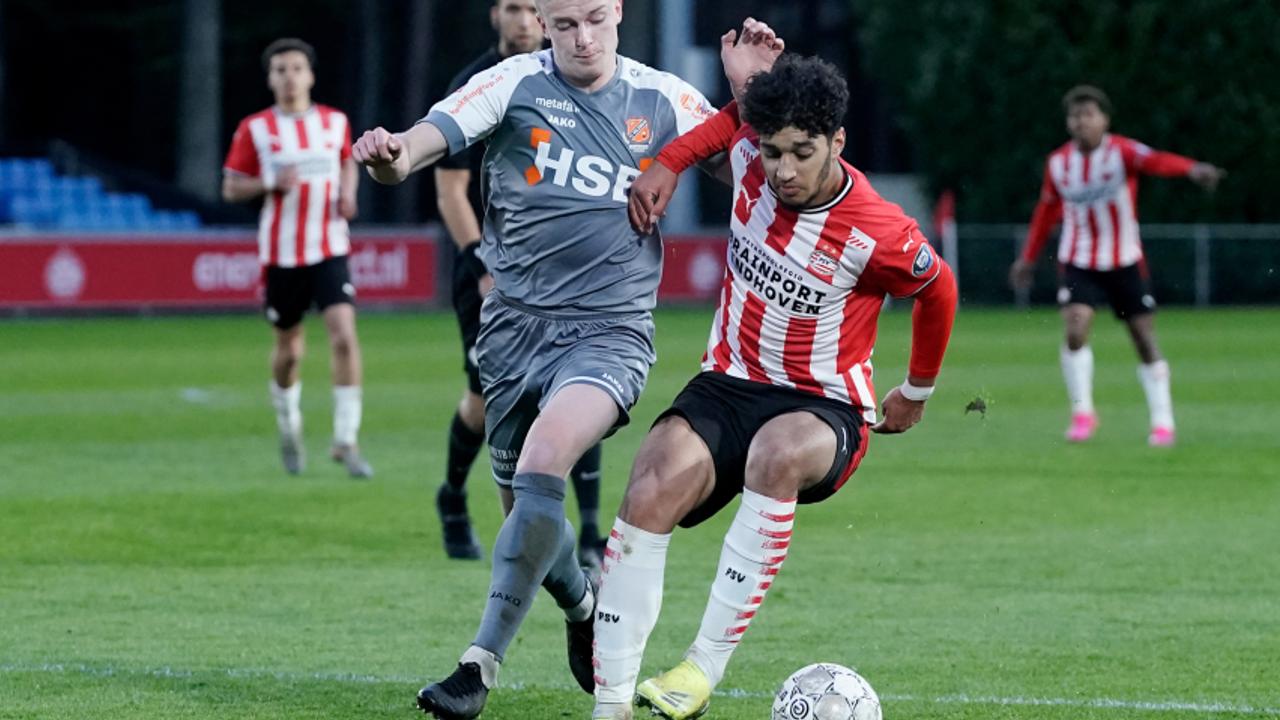 Jong PSV verliest nipt van FC Volendam