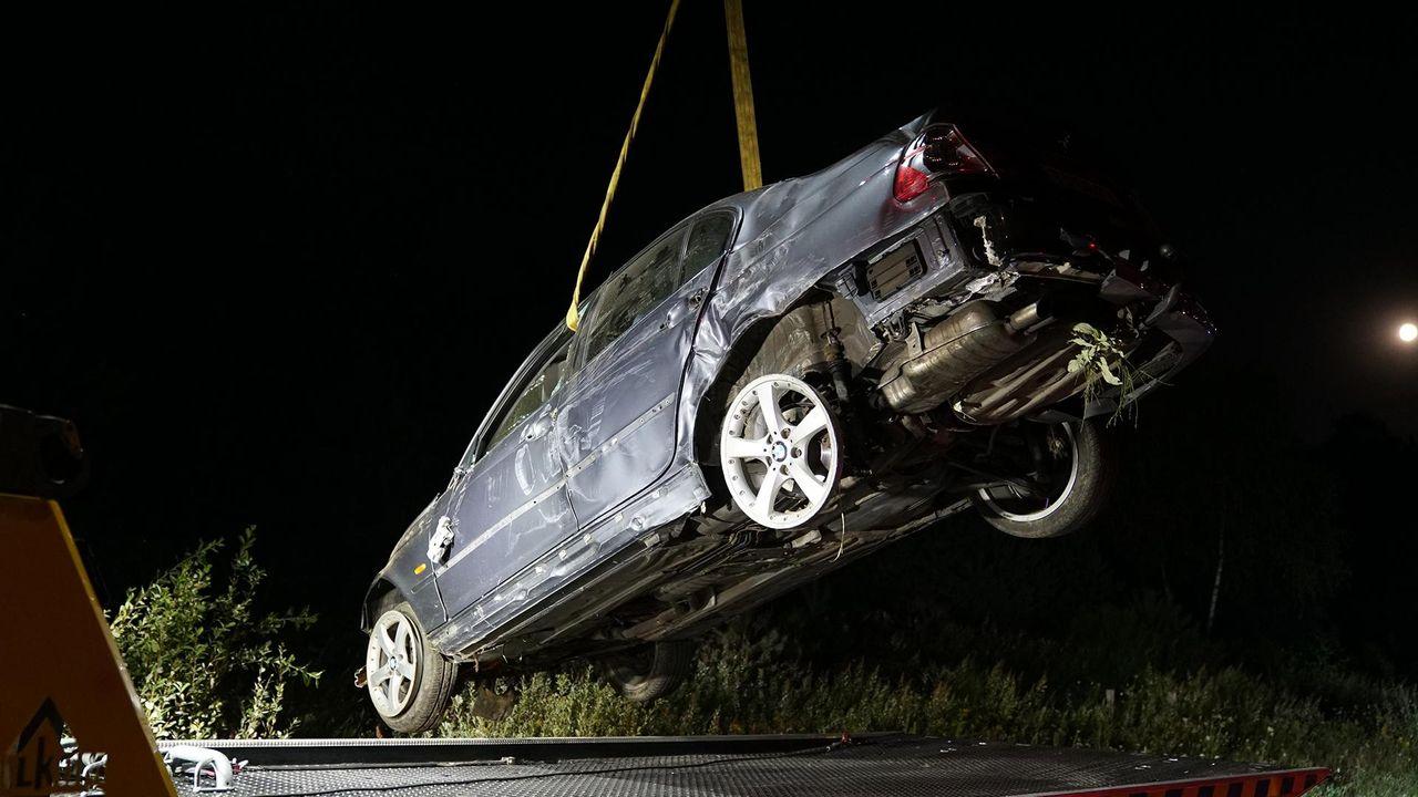 Dronken automobilist belandt in de berm bij Waalre