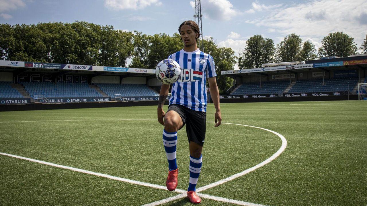 FC Eindhoven-speler Hernández schiet El Salvador naar overwinning