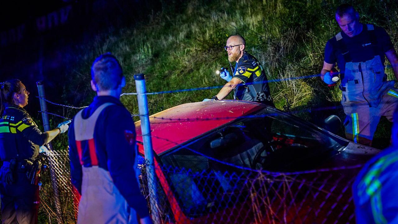 Automobilist verongelukt op de John F. Kennedylaan in Eindhoven