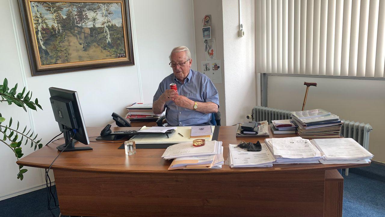 Dré Rennenberg (83) blijft nog wel even lijsttrekker