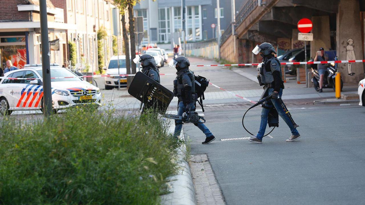Twee mensen aangehouden na vuurwapenmelding op Strijp S