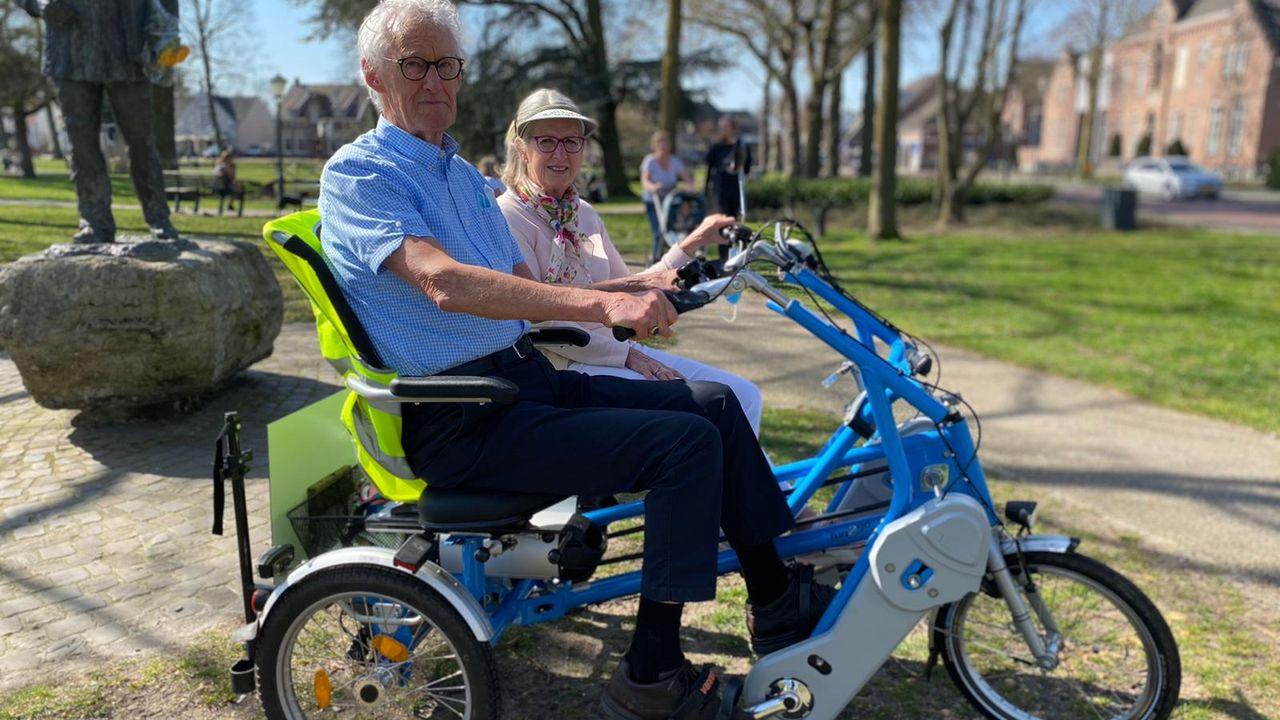 Henk heeft meer vrijheid nu hij weer kan fietsen