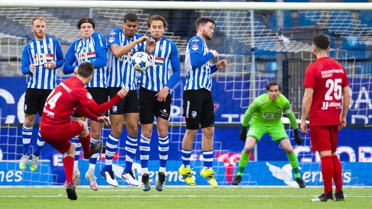 Almere City FC te sterk voor FC Eindhoven