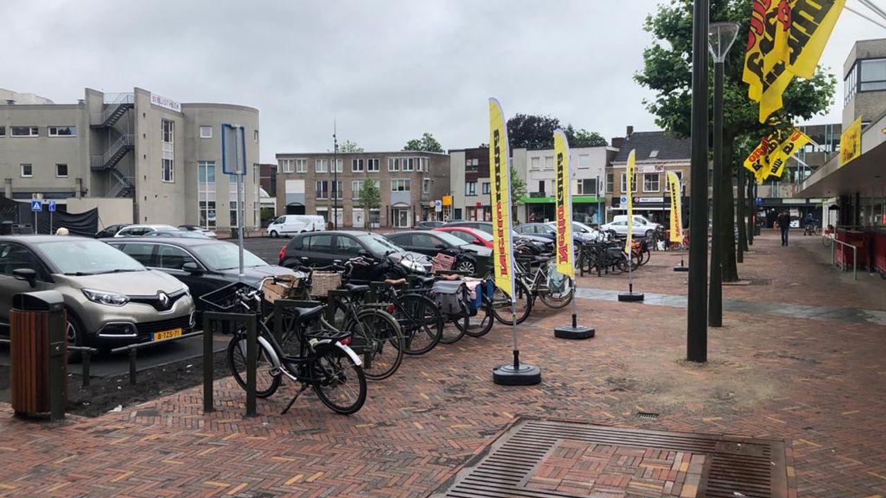 Marktplein in Geldrop weer open