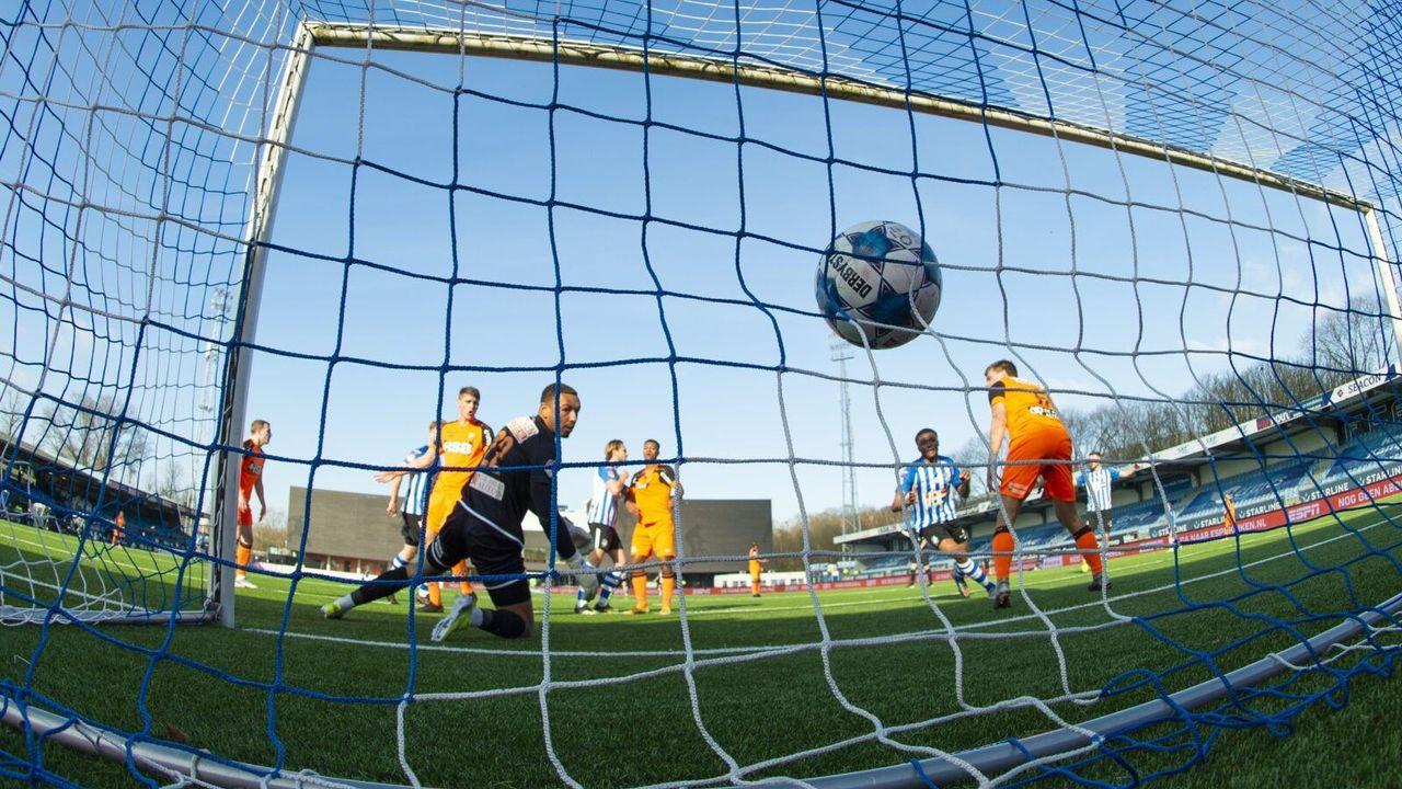 FC Eindhoven houdt FC Volendam op gelijke hoogte