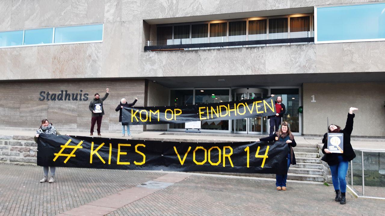 FNV voert zaterdag actie voor minimumloon in Eindhoven