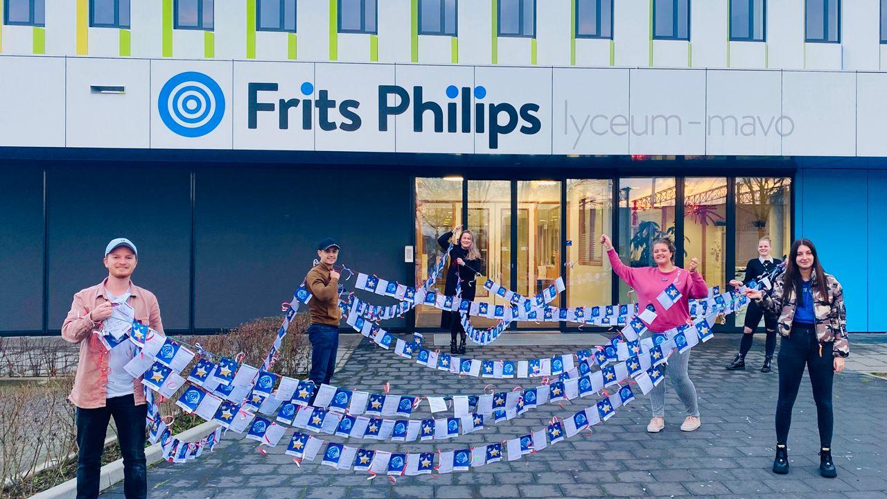 Muziek voor thuiswerkende docenten Frits Philips Lyceum