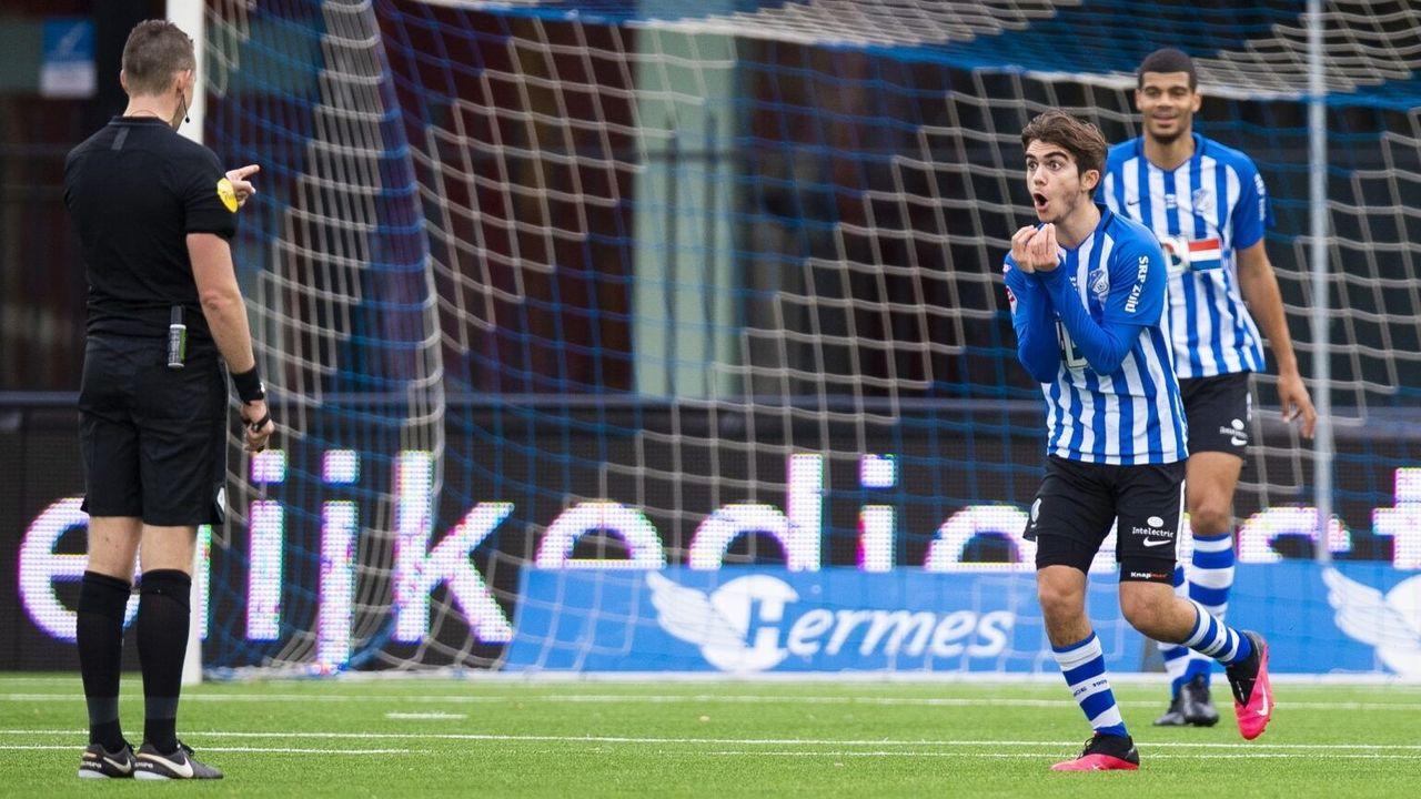 FC Eindhoven onderuit tegen NAC Breda