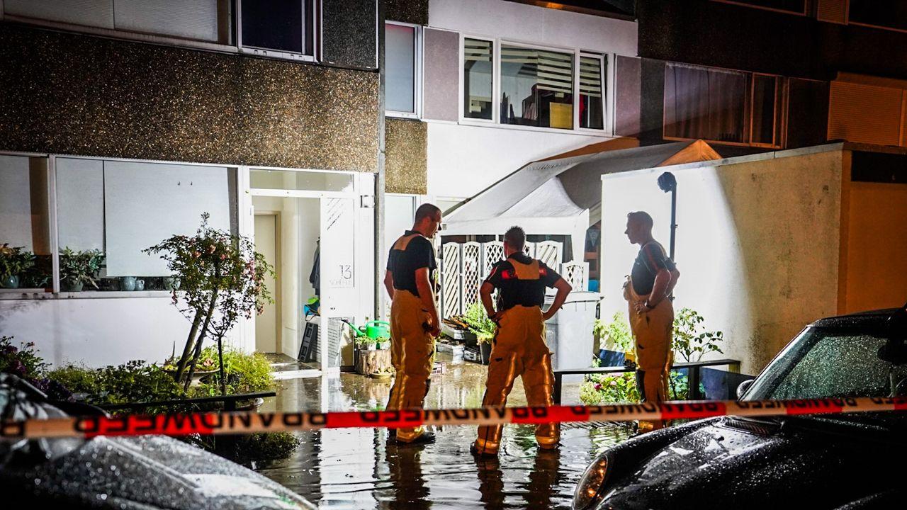Noodweer in de regio: sinkholes, kelders en wegen ondergelopen