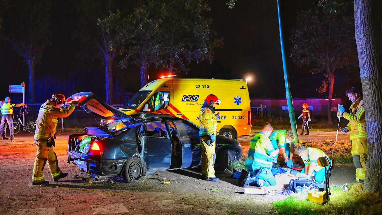 Ernstig gewonde bij ongeluk in Waalre