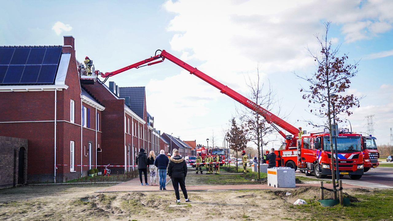 Woningbrand in nieuwbouwwijk Nuenen