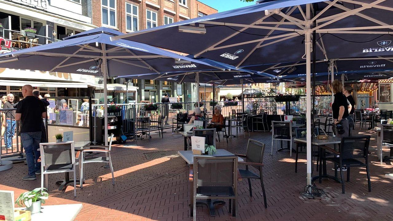 Winterterrassen in Eindhoven: 'Moreel appèl tegen gasverwarmers'