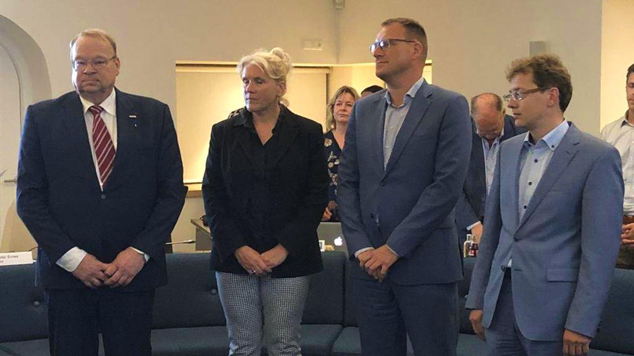 Wethouders Waalre zeggen vertrouwen in burgemeester op