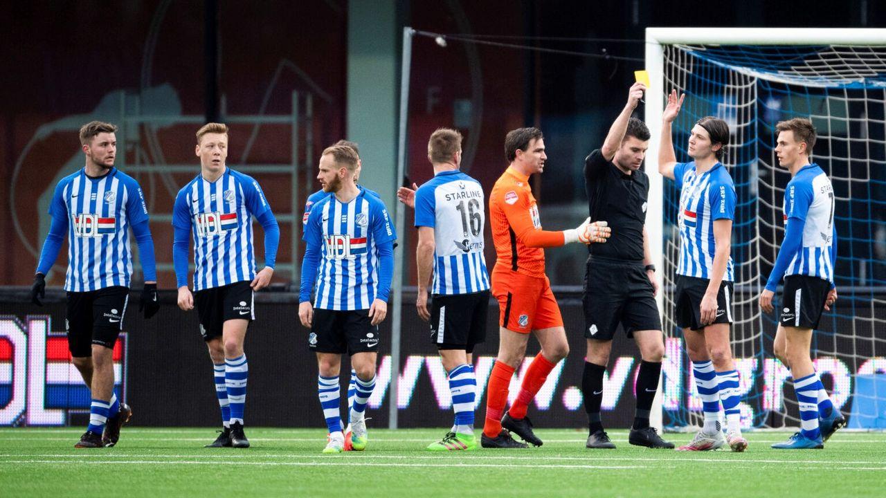 Pak slaag voor FC Eindhoven tegen Cambuur Leeuwarden