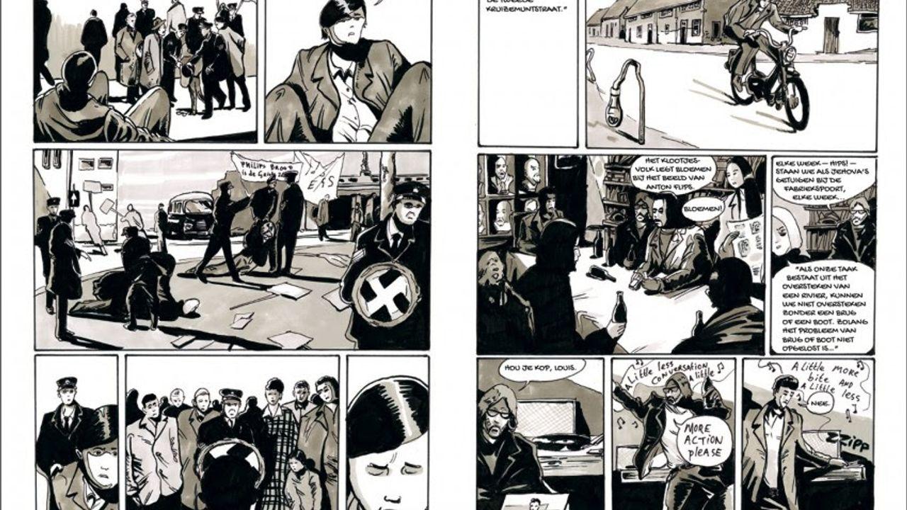 Graphic novel blikt terug op roerige jaren 60 en 70 in Eindhoven
