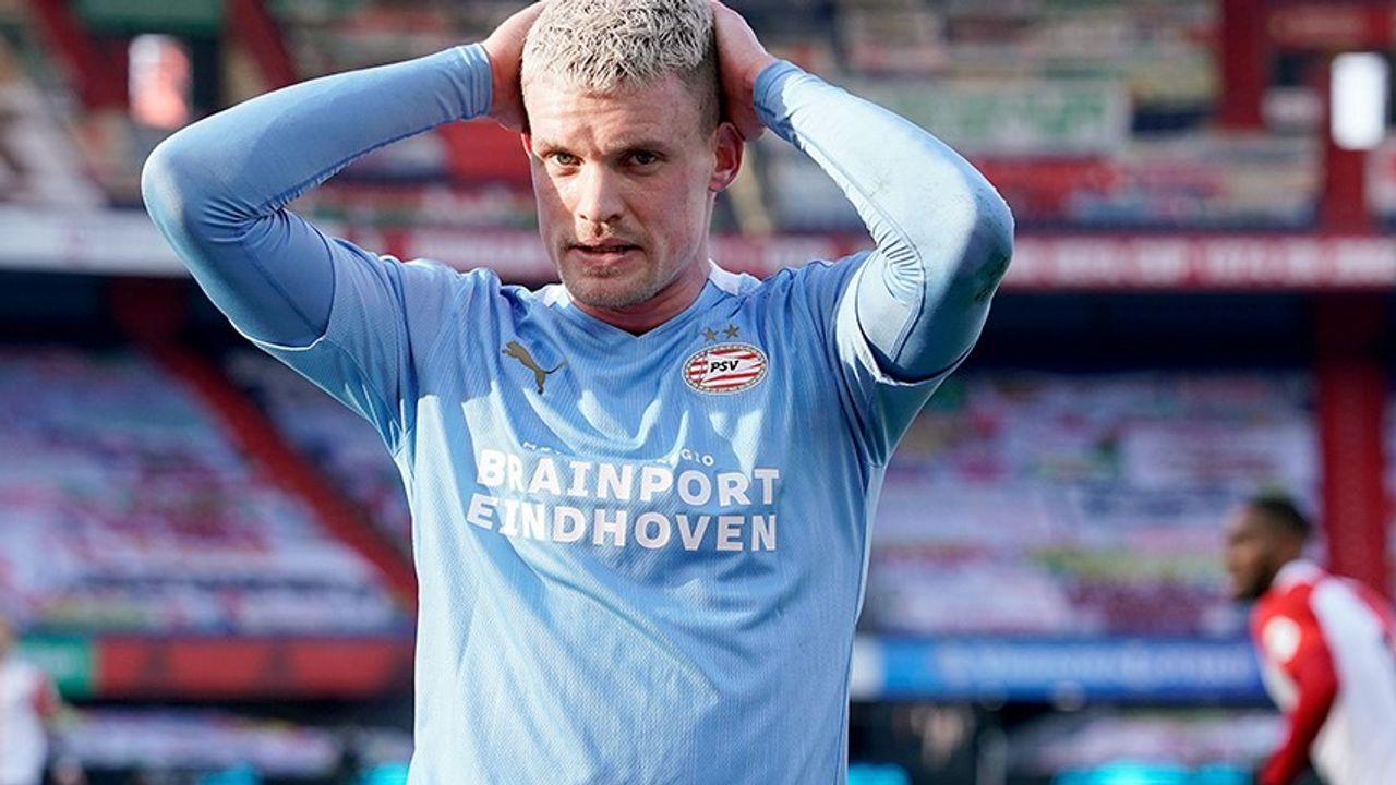 PSV verliest op bezoek bij Feyenoord