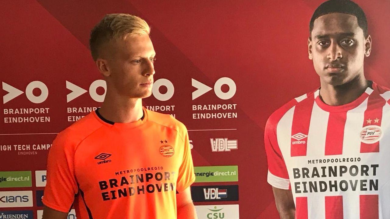 PSV-aanwinst Baumgartl gepresenteerd op Herdgang