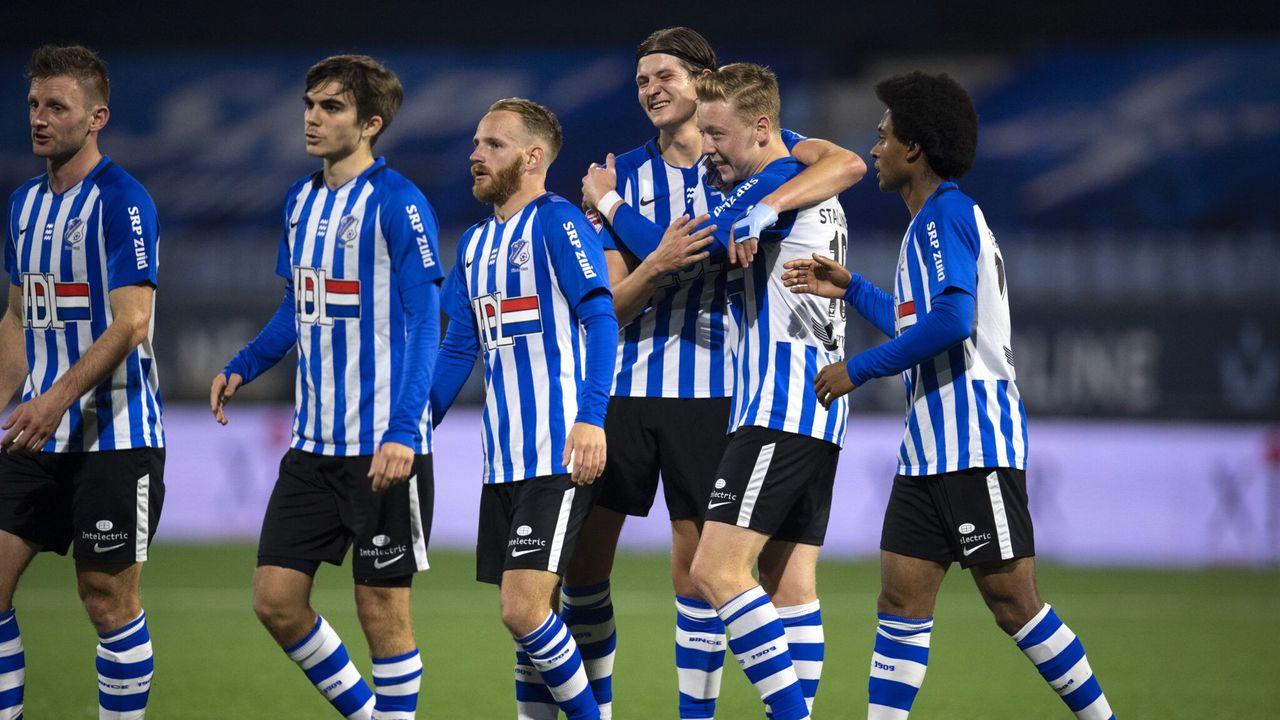 FC Eindhoven legt Dordrecht over de knie