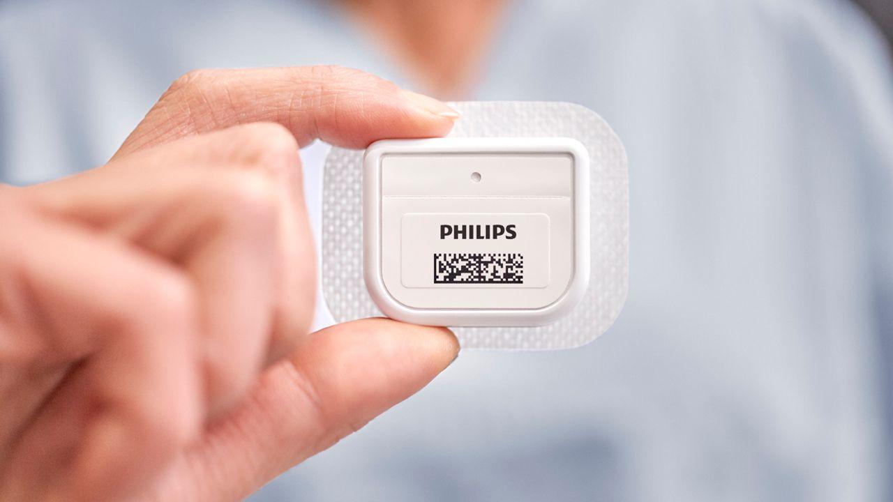 Philips ontwikkelt sensor om patiënt thuis in de gaten te houden