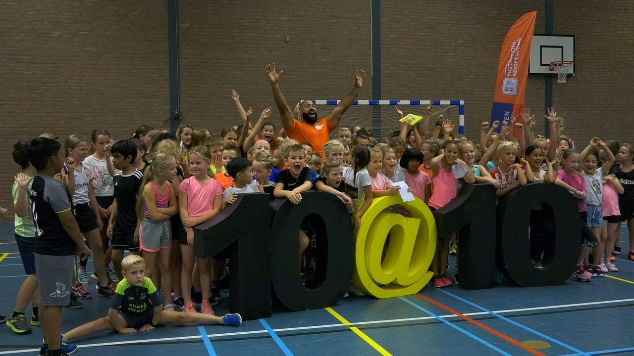 10@10 challenge in Eindhoven tijdens Nationale Sportweek