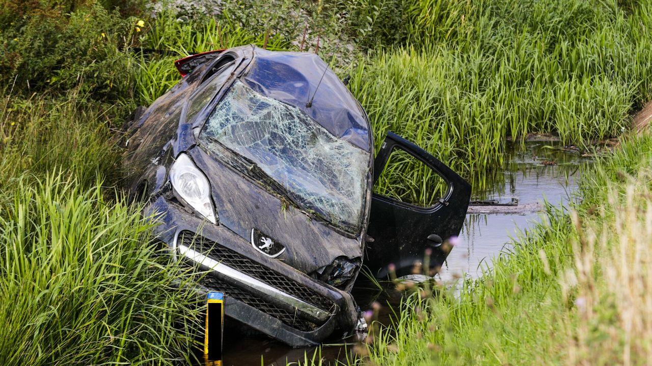 Zwaargewonde door auto-ongeluk op N2 bij Eindhoven