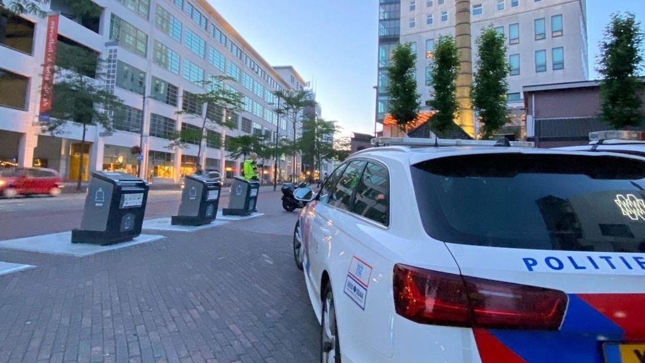 Veel boetes uitgedeeld bij politiecontrole in Eindhovense binnenstad