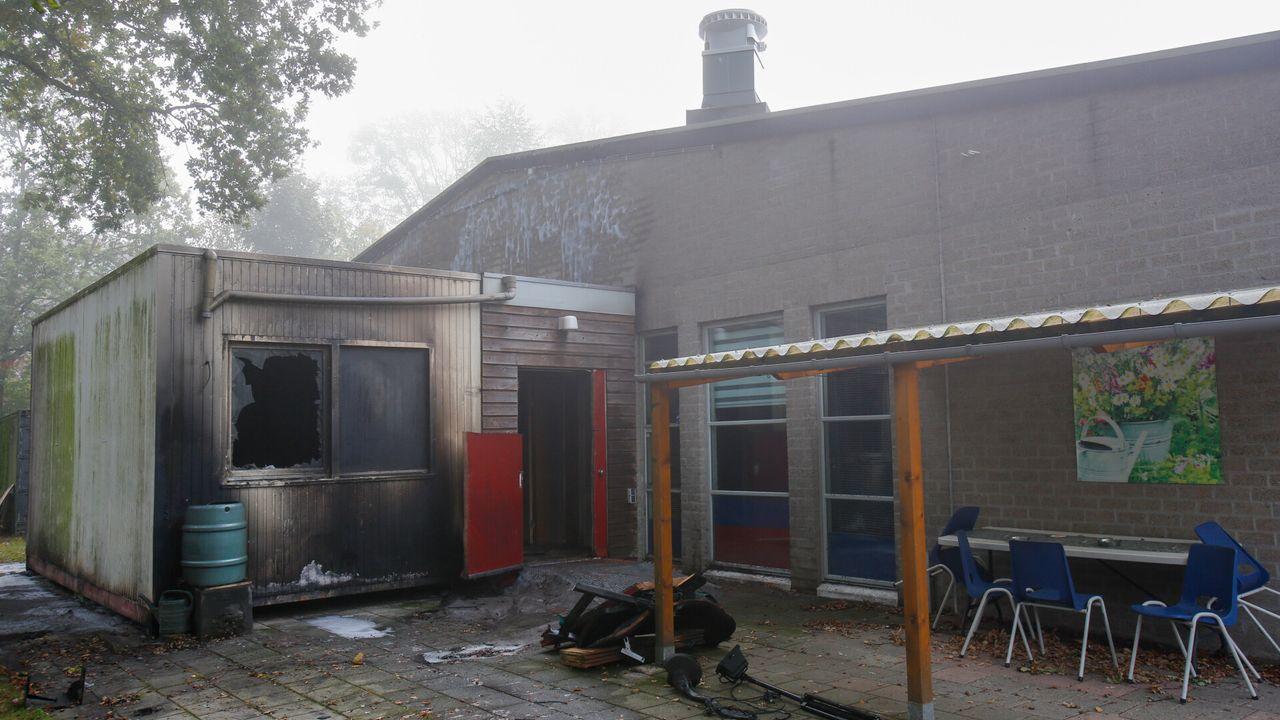 Brandstichting bij buurtcentrum: 'de derde keer is het ze gelukt'