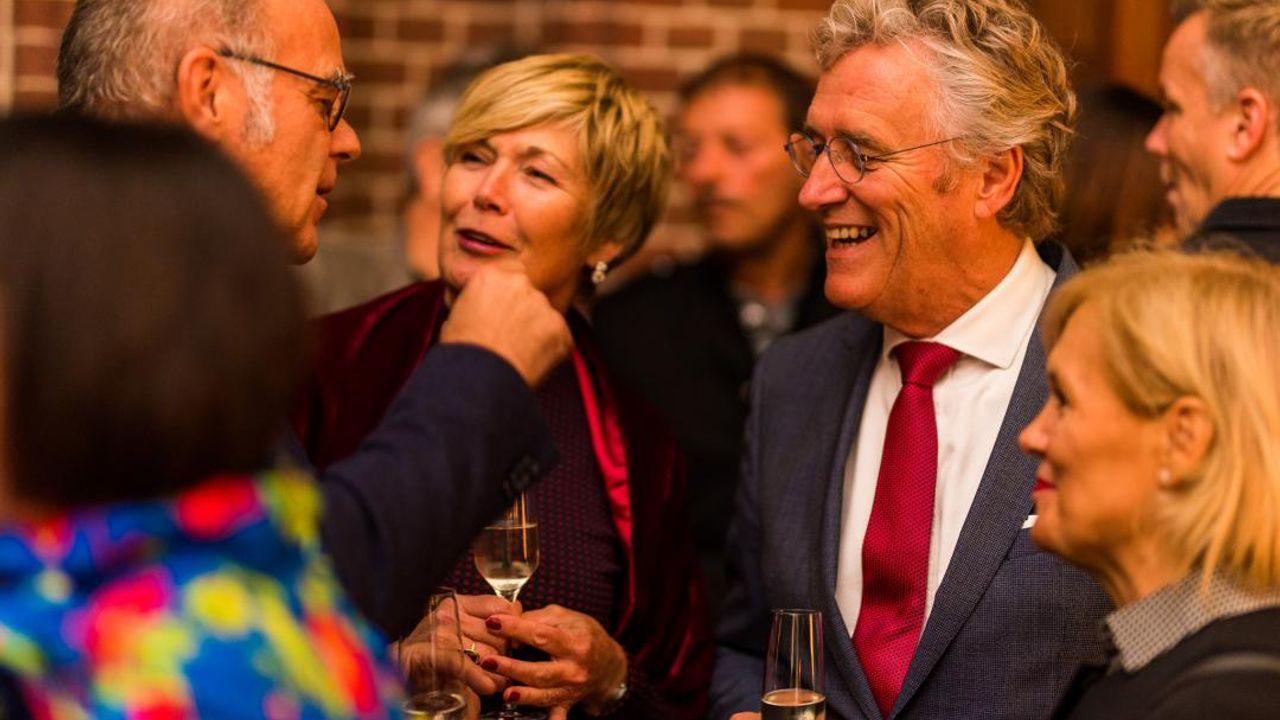 'First lady' Georgette Jorritsma geeft haar man geen advies, maar luisterend oor