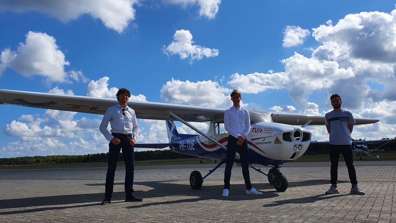 TU/e-studenten bouwen aan e-vliegtuig